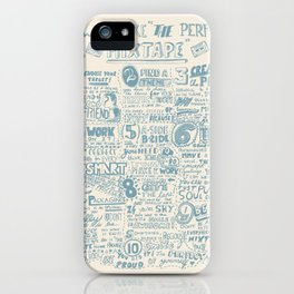 How to make the perfect mixtape iPhone Case