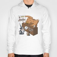 middle earth Hoodies featuring Middle Earth Travels by souldroid