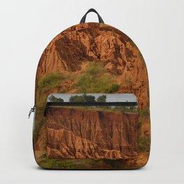 New York Sandstone Cliffs  Landscape Konso Ethiopia Africa 2 Backpack