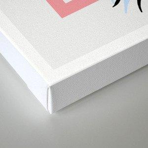 CALI blue Canvas Print