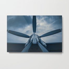 Clear Prop! Metal Print