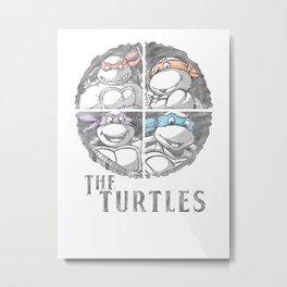 The Turtles Metal Print