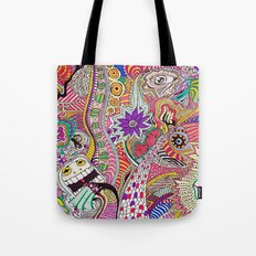 It's What's On The Inside That Counts. Tote Bag