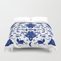 jungle Duvet Covers featuring JUNGLE by RUEI
