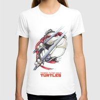 tmnt T-shirts featuring TMNT by Linartist