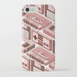 90's pattern iPhone Case