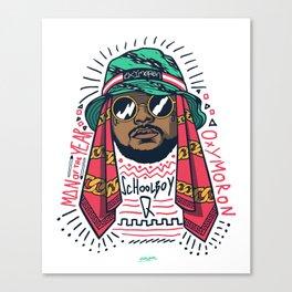 SchoolboyQ Canvas Print