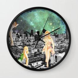 GIRLSVILLE Wall Clock
