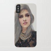 xoxo iPhone & iPod Cases featuring XOXO by Sara Eshak