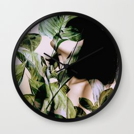 In Bloom I Wall Clock
