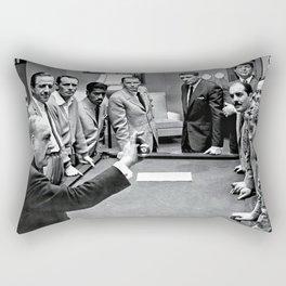 Ocean's 11 - The Rat Pack Rectangular Pillow