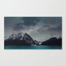 Lake Louise Winter Landscape Canvas Print
