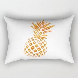 Orange Swirl Pineapple - Single Rectangular Pillow