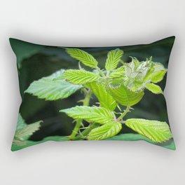 Blackberry Leaves Rectangular Pillow