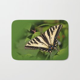 Western Tiger Swallowtail in the Garden Bath Mat