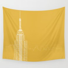 NYC by Friztin Wall Tapestry