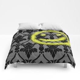 Sherlock smiling wall Comforters