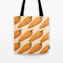 Beautiful Digital illustration of carrots Tote Bag