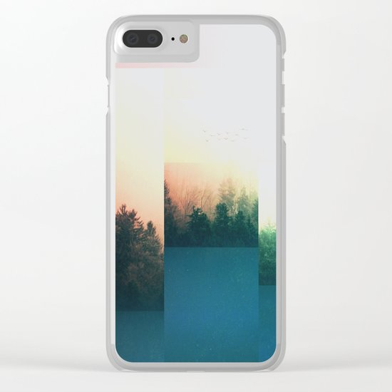 Fractions A70 Clear iPhone Case