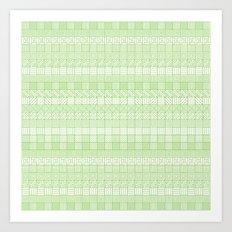 Square Syndrome Art Print