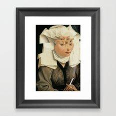 van Weyden und das Laster Framed Art Print