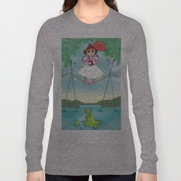 Baby Haunted Mansion Tightrope Ballerina Long Sleeve T-shirt