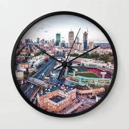 Boston City Wall Clock