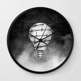 Ideas of Freedom Wall Clock