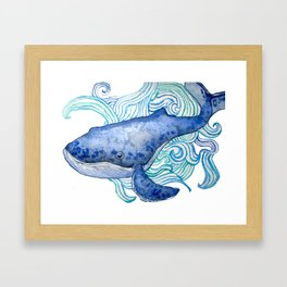 Baleia Framed Art Print