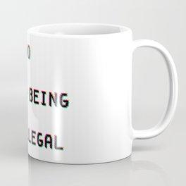 No Human Being Is Illegal Coffee Mug