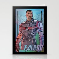 falcon Stationery Cards featuring Falcon by DeanDraws