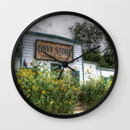 The Old General Store Wall Clock