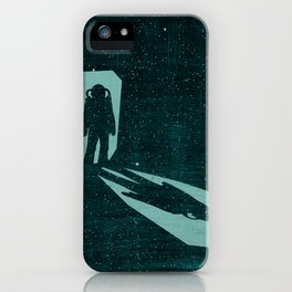 A door through space iPhone Case