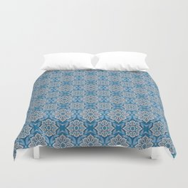 Snow flower Duvet Cover