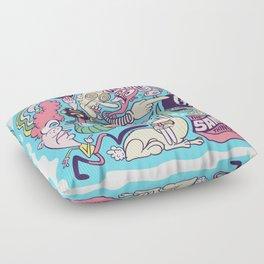 Doodle #2389 Floor Pillow