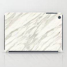 Calacatta gold iPad Case