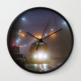 Winter Fog #2 Wall Clock