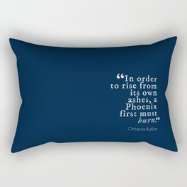 In Order to Rise Rectangular Pillow