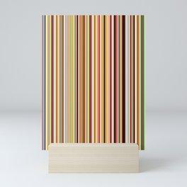 Old Skool Stripes Mini Art Print