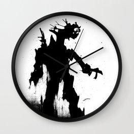 Screaming Ent Wall Clock