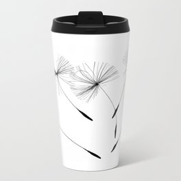 Dandelion seeds, Metal Travel Mug
