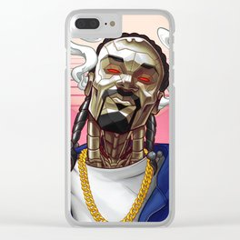 Snoop Bot Clear iPhone Case