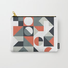 Mid Century Geometric 04 Carry-All Pouch