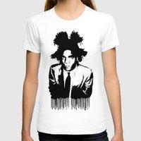 basquiat T-shirts featuring BASQUIAT DRIP by KING