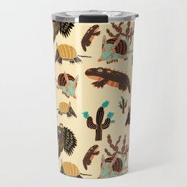 Desert Creatures Travel Mug