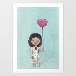 Innocent Heart Art Print