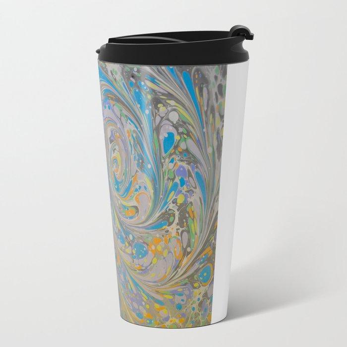 Marble Print #16 Travel Mug