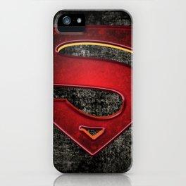Superman Logo iPhone Case