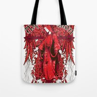 religion Tote Bags featuring My religion by Tshirt-Factory