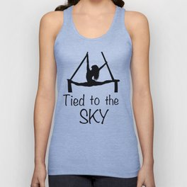 "Aeiralist ""Tied to the Sky"" Graphic Unisex Tank Top"
